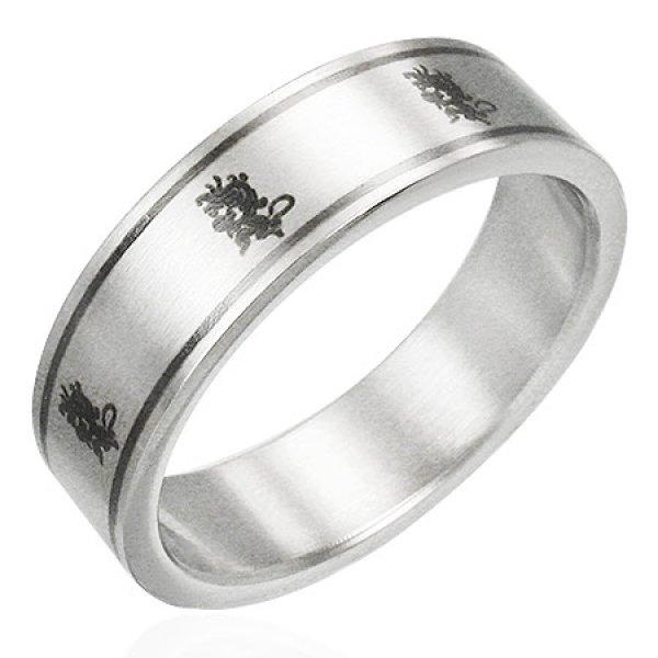 Prsten z chirurgické oceli GPRB090