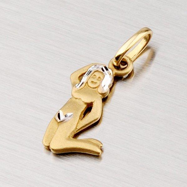 Zlatý přívěsek - Panna 43-2071-08