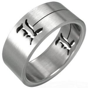 Ocelový prsten GRRR023