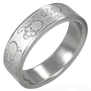 Prsten z oceli GRRR091