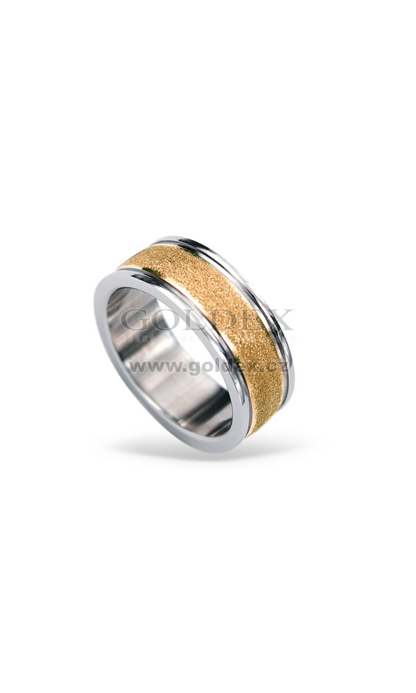 Ocelovy Prsten Rss424 Rosegold Goldex Cz