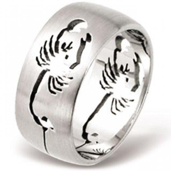 Ocelový prsten RSSO261