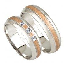 Zlaté snubní prsteny SP-213