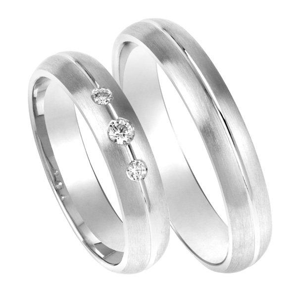 Zlaté snubní prsteny SP-201