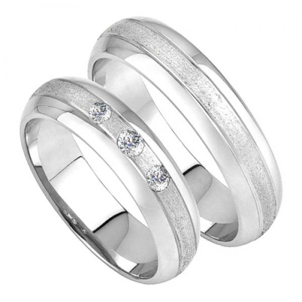 Zlaté snubní prsteny SP-212