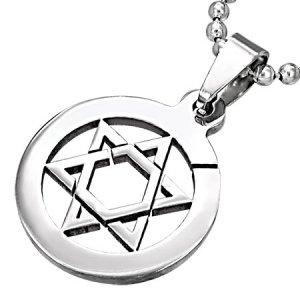 Přívěsek s židovskou hvězdou GTPB100