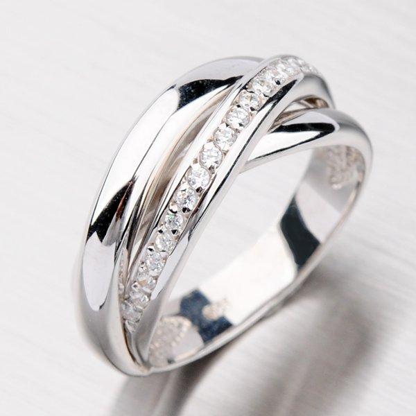 Prsten se zirkony VXCR3630-RD-FCZ