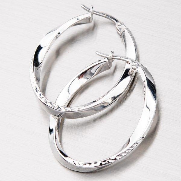 Dámské stříbrné kruhy VX4DCTE7400-RD