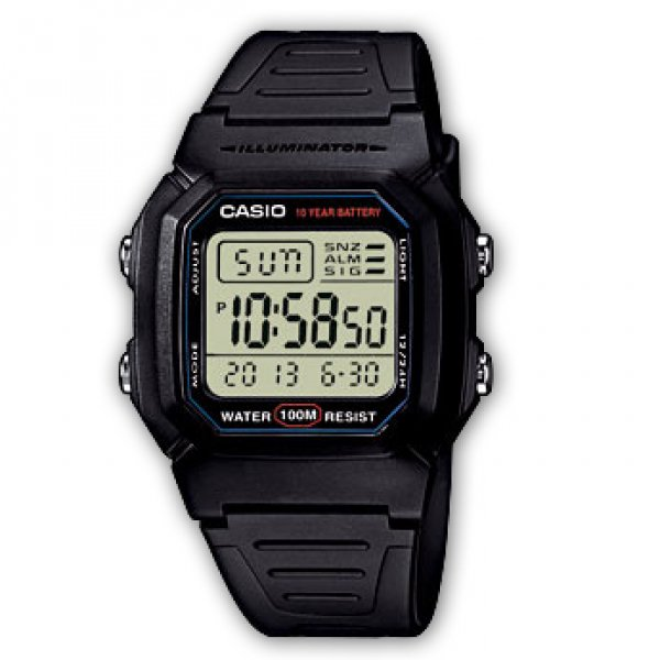 Casio COLLECTION W 800H-1 15023854