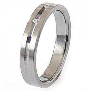 Ocelový prsten ZSQ04026