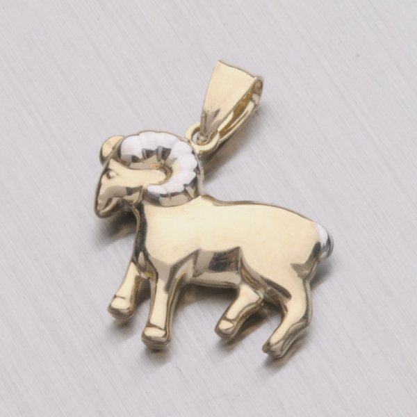 Zlatý přívěsek - Beran 1-4010-03