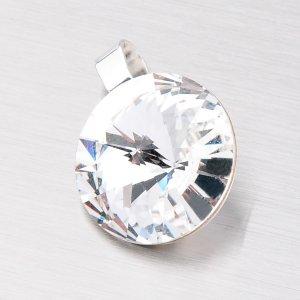 Přívěsek s krystalem 14 mm D132B
