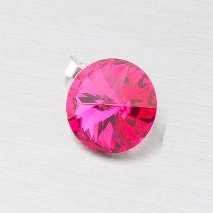 Přívěsek s krystalem 10 mm D119ČV-JK