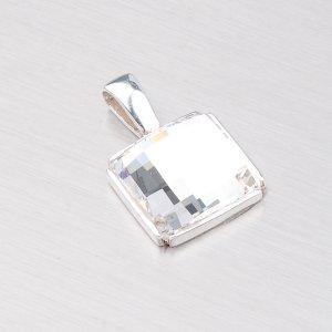 Stříbrný přívěsek s krystalem D167B