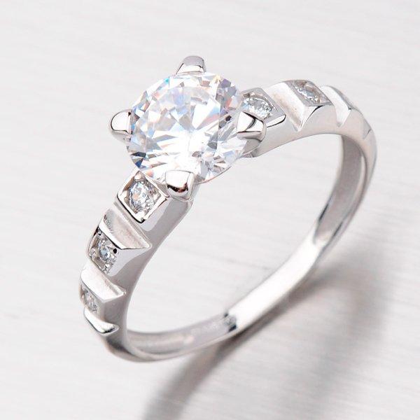Prsten se zirkony GZ2490B
