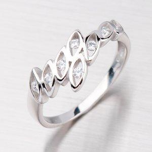 Dámský prsten zlatý GZ1733B