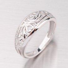 Prsten z bílého zlata GZ2133B