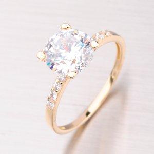 Prsten zlatý GZ2417