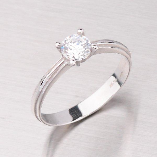 Prsten z bílého zlata GZ1587B