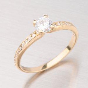 Prsten ze žlutého zlata GZ2354