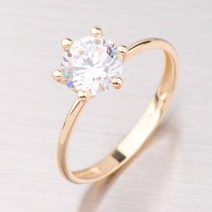 Prsten ze žlutého zlata GZ2486