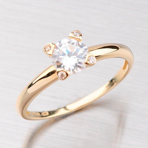 Prsten zlatý GZ2359