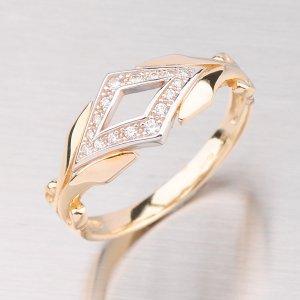Prsten zlatý GZ2145