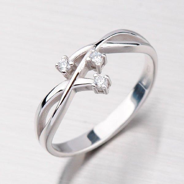 Elegantní prsten zlatý GZ2190B