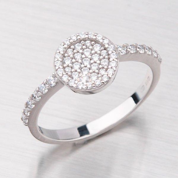 Prsten se zirkony GZ2506B