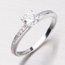 Dámský prsten se zirkony GZ2354B
