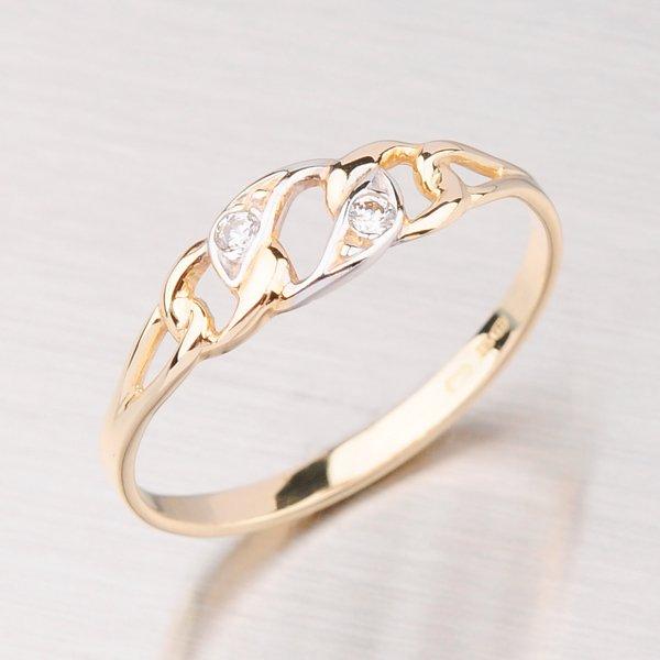 Zlatý prsten GZ1242