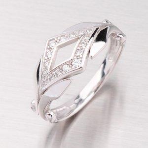 Prsten z bílého zlata GZ2145B