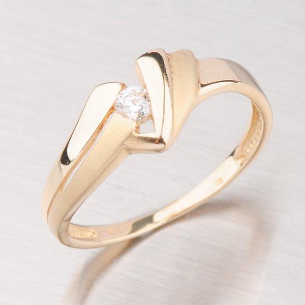 Zlatý prsten GZ1835