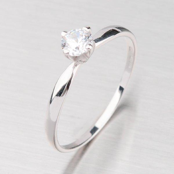 Prsten z bílého zlata GZ2365B