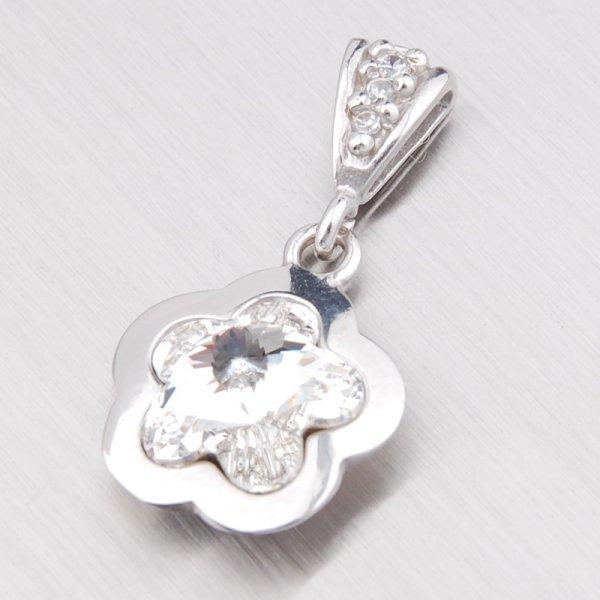 Přívěsek s krystalem ze stříbra GXP1296B