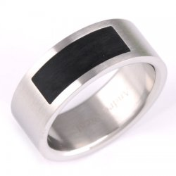 Ocelový prsten 230884