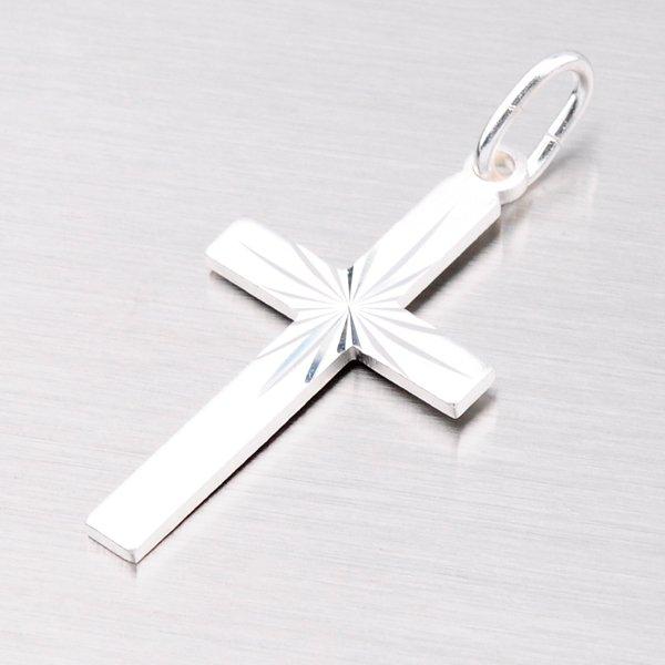 Stříbrný kříž M5278C