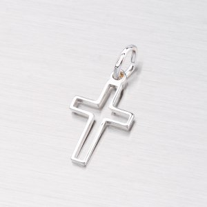 Křížek stříbrný M5272A