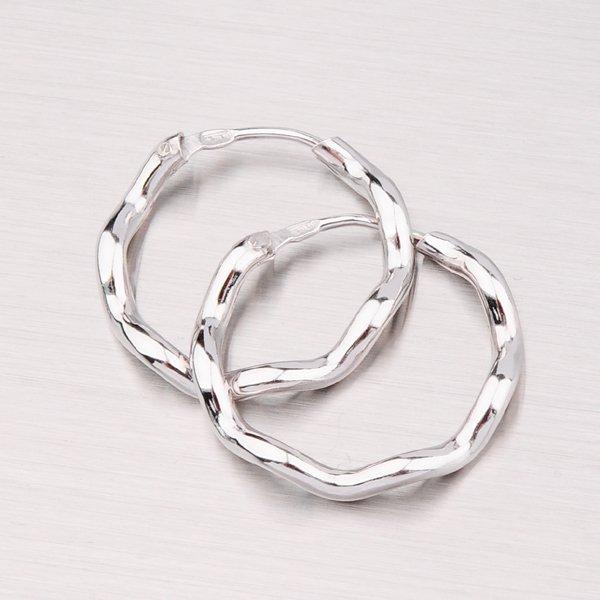 Stříbrné kruhy 20 mm M6188OND