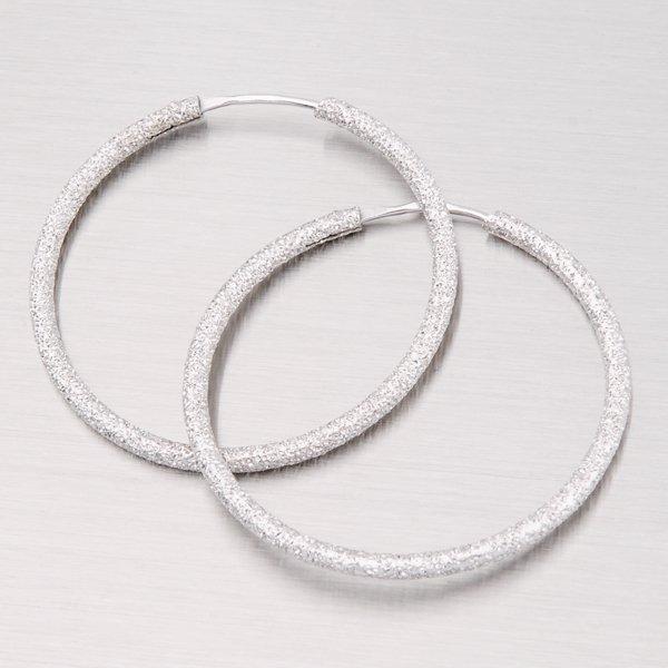 Stříbrné kruhy 35 mm M7991