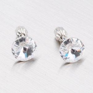 Náušnice stříbrné N337B-JK