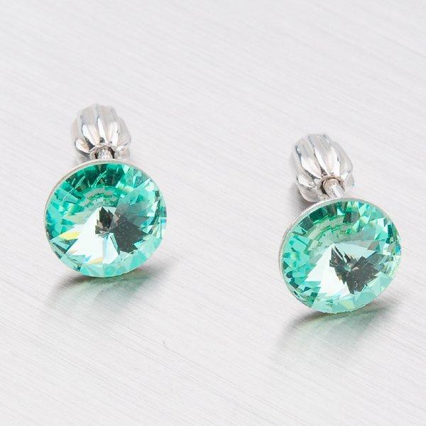 Stříbrné náušnice s krystaly N337Z-JK