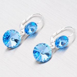Náušnice s krystaly N336SM-JK