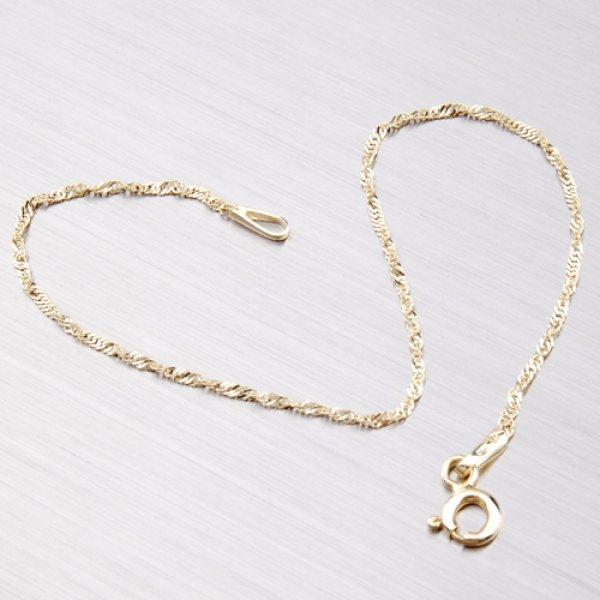 Lambáda ze žlutého zlata N304-0002