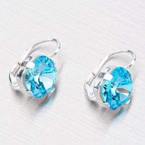 Náušnice s krystaly N361M-JK