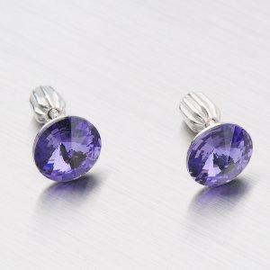 Náušnice s krystaly N337TF-JK