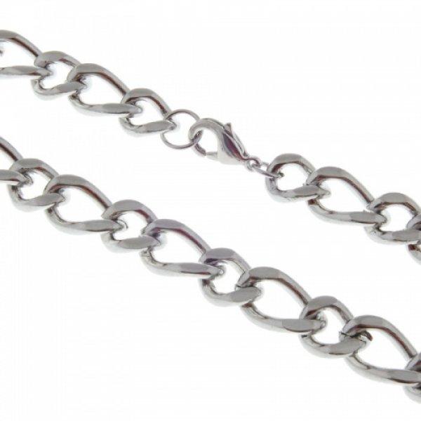 Ocelový řetěz Figaro 1+1 CC06-01