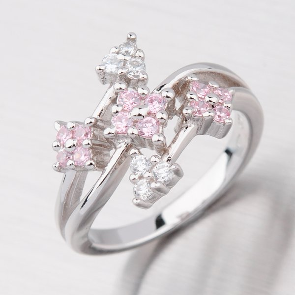 Stříbrný prstýnek R3447