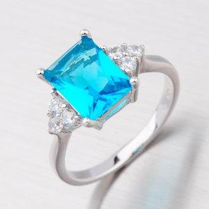 Prsten stříbrný R3386