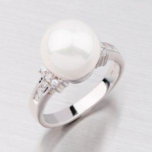 Prsten s perlou R5020